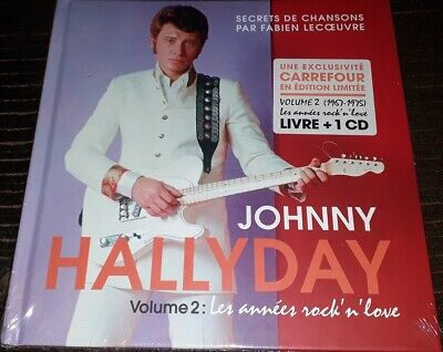 Neuf Scelle Johnny Hallyday Livre Cd Carrefour Secrets De Chansons Volume 2