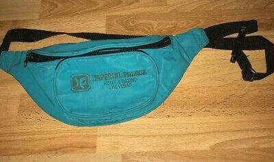 Imperial Palace Hotel & Casino Las Vegas Vtg Fanny Pack Belt Money Bag