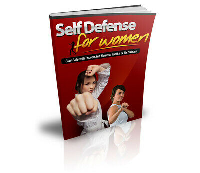 Self Defense For Women eBook PDF Resell Rights +10 Valuable Free E books