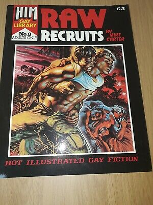 HIM Gay Library issue no.3 Raw Recruits