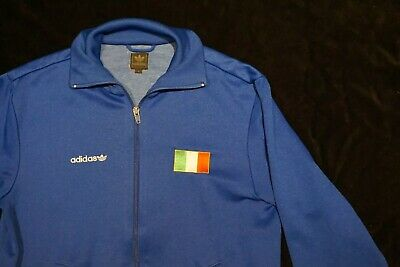 a3cc8c37a Rare Italy Italia Adidas Originals Football Tracksuit Track Top Small