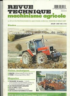 Revue Technique Machinisme Agricole Sperry Vickers Fiat Rtma N°24 Agriculture