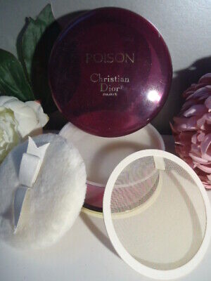 DIOR POISON Poudre Sublime Perfumed Dusting Powder Talc 120g New Huge Tub NO Box