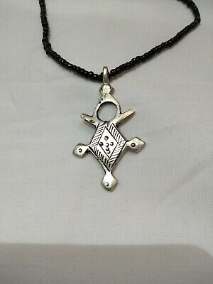 Fantastic Medieval ANCIENT VIKING necklace Pendant AMULTE SILVER museum quality