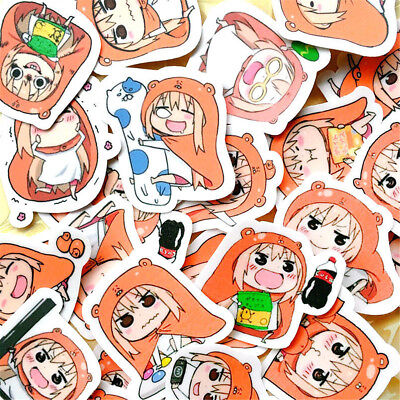 25pcs/set Himouto! Umaru-chan Suitcase Stickers Phone Stickers Decal Cute