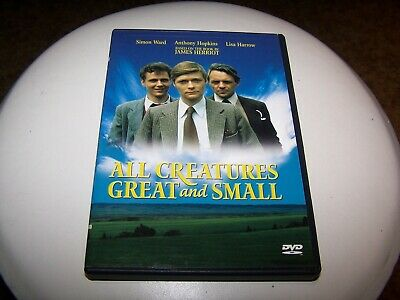 All Creatures Great and Small (DVD)- Simon Ward, Anthony Hopkins, Lisa Harrow