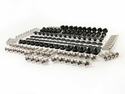 Complete Set Stainless Steel Fairing Bolt Kit Body Screws Nuts for Yamaha