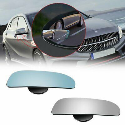 2X HD Auto Car Adjustable Side Rearview Blind Spot Rear View Auxiliary Mirror AU