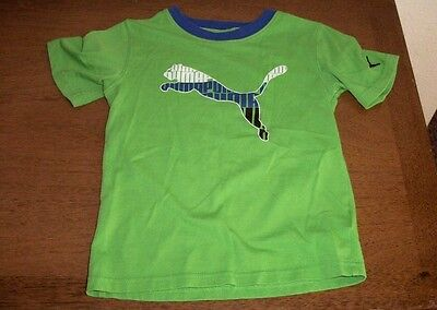 Toddler Boys T Everyday Green Short Sleeve Shirt Sports Lifestyle Boys  5 Cotton