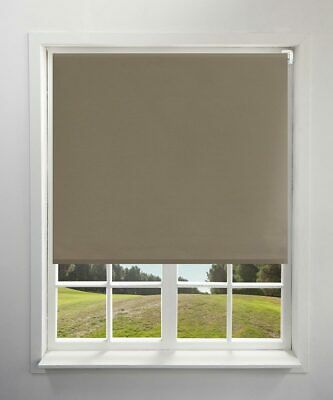100% Blackout Roller Blinds Curtain Full Shading UV Block Muti-color Custom Size