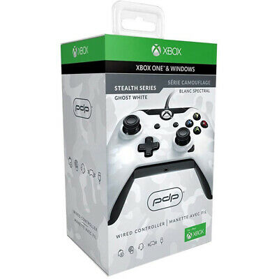 White Camo Wired Controller Xbox One / Pc [Pdp]