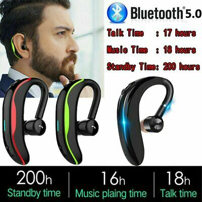 Wireless Bluetooth Stereo Headset Earphones Headphone for Samsung iPhone Android