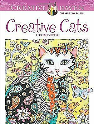 Creative Haven Creative Cats Coloring Book (Creative Haven Coloring Books), Sarn