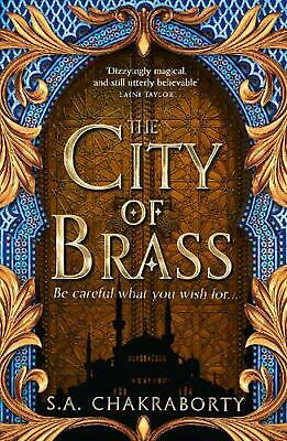 City of Brass by S.A. Chakraborty (English) Paperback Book Free Shipping!