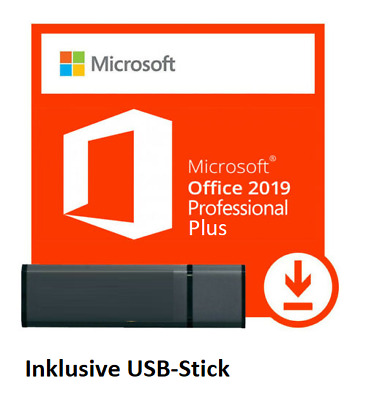 TOP Microsoft Office 2016 Professional Plus + USB-Stick x86 x64 32/64Bit Deutsch