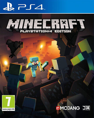 Minecraft (PS4)  BRAND NEW AND SEALED - IN STOCK - QUICK DISPATCH - FREE UK POST