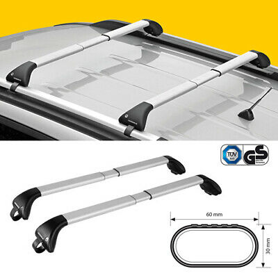 ROOF BARS BRIDGE PREALPINA JEEP PATRIOT FROM 2007 WITH RAILING