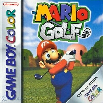 Nintendo GameBoy Color game - Mario Golf cartridge