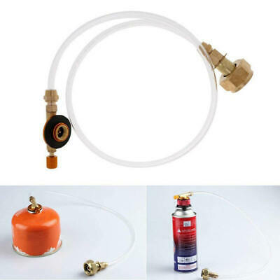 Propane Refill Adapter Gas Tank Bottle Connector Hose for Picnic Camping ZKY