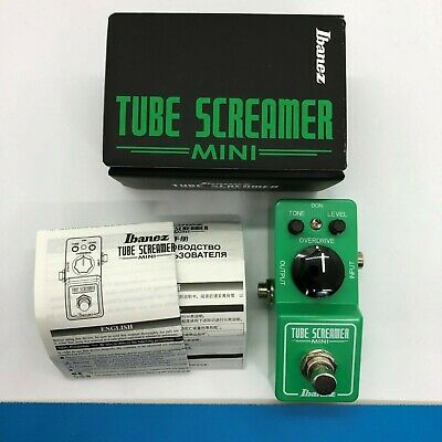 Ibanez TUBE SCREAMER MINI TS mini guitar effect pedal Excellent condition F/S