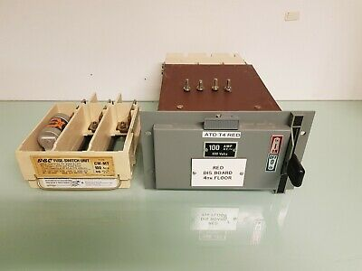 other circuit breakers gec switch fuse miniform carriage cartridge holder  cmmt 200 amp 3 phase pole