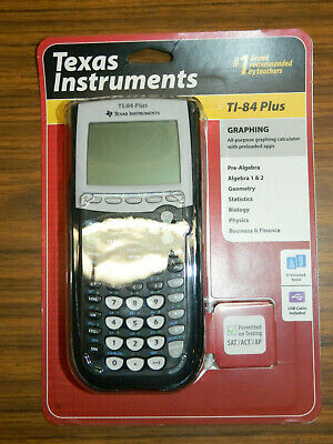 TEXAS INSTRUMENTS TI-84 Plus Graphing Calculator Sealed and