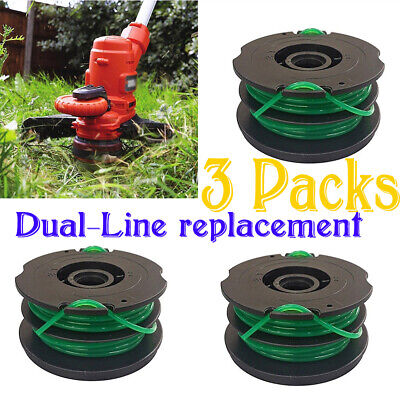 4 PACK FOR Black Decker String Trimmer Line Spool Replacement Weed