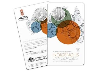 2019 RAM 50 Cent Frosted Uncirculated Coin - Year of Indigenous Languages