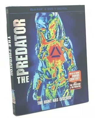 Predator, The [2018]  (Blu-ray+DVD+Digital, 2018)  NEW w/ Slipcover