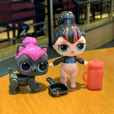 LOL SURPRISE Doll & Pet GLAM GLITTER SPICE & SPICY KITTY toys gifts MYBJ