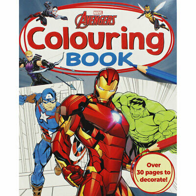 Marvel Avengers Colouring Book by Igloo Books (Paperback), Children's Books, New