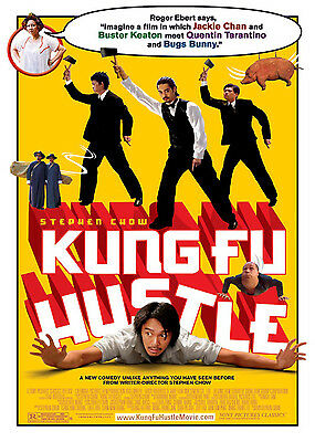 KUNG FU HUSTLE • 1-Sheet Movie Poster DS • STEPHEN CHOW • 2004
