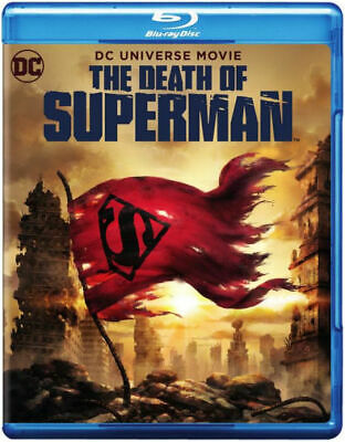 The Death of Superman (Blu-Ray / DVD) NEW