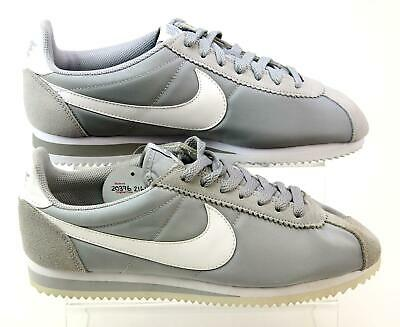 MENS NIKE CLASSIC Cortez Grey Suede Sports Running Fitness