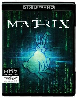 The Matrix (4K Ultra HD/Blu-ray, 1999, 2-Disc Set) NEW