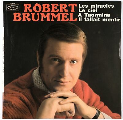 ROBERT BRUMMEL - 1966 France EP 45 tours Epic 9058