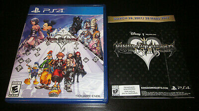 KINGDOM HEARTS HD II.8 2.8 Final Chapter Pologue Disney PlayStation 4 PS4 3in1