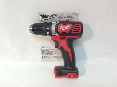 """Milwaukee  NEW 2606-20 M18 18V Compact 1/2"""" Drill Driver (Bare Tool)"""