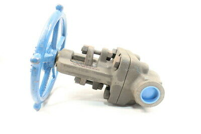 Velan W-3074B-02TS Manual 1500 Steel Socket Weld 1in Globe Valve