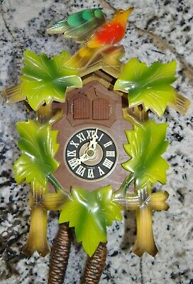 Musical Cuckoo Clock Henry Coehler Regula German Black Forest Vtg Parts Repair