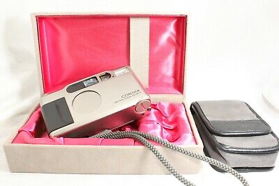 【Exc+5 IN BOX】 CONTAX T2 Kyocera Point & Shoot 35mm Film Camera from JAPAN