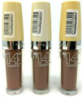 (3) Maybelline Super Stay 14 Hr Lipstick Imperfect FLAWED 025 - Beige For Good