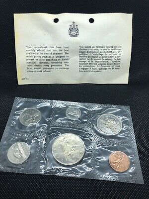 Canada Uncirculated 1968 Proof-Like Set - 6 Coins