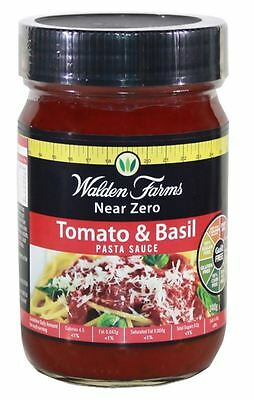 Walden Farms Near Zero Calorie Pasta Sauce | Carb Free | Fat Free | All Flavours