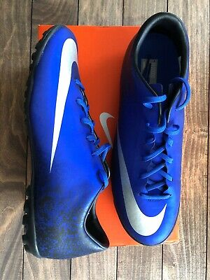 30c3a8bf6ec NIKE MERCURIAL VICTORY V CR7 TF Soccer Cleat (684878-404) Men s Size ...