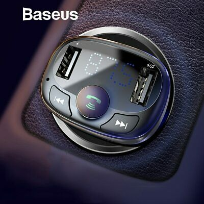 Baseus USB Car Kit LCD SD FM Transmitter MP3 Player Handsfree Wireless Bluetooth