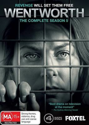 Wentworth Complete Season 5 Fifth Five DVD NEW Region 4