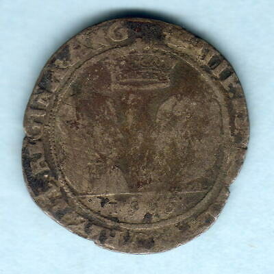 Ireland.  1555 Philip & Mary - Shilling.. VG