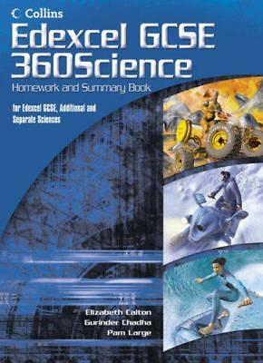 GCSE Science for Edexcel - Science Summary and Homework Book by , NEW Book, FREE