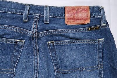 75d03d4f Lucky Brand 181 Relaxed Straight Mens 31 Long X 35 Jeans 7Mg1000 Dark Blue